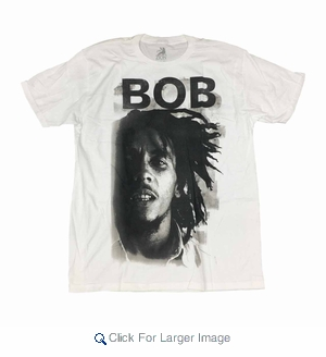 Wholesale Men's Bob Marley T-Shirts - $8.50/pc. - Click to enlarge