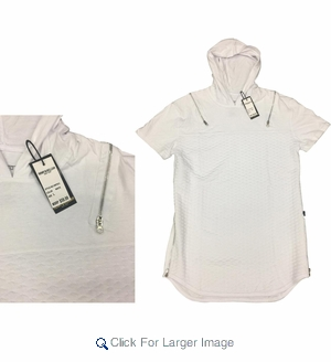 Wholesale Men's Fashion Hooded Quilted Shirts - $16.50/pc. - Click to enlarge