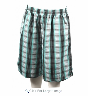 Wholesale Men's Polyester Plaid Shorts - Click to enlarge