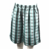 Wholesale Men's Polyester Plaid Shorts