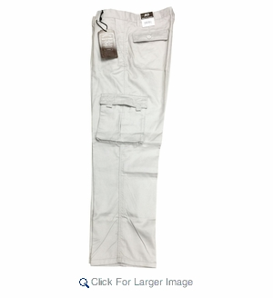 Wholesale Men's Twill Cargo Pants - $11.50/pc - Click to enlarge