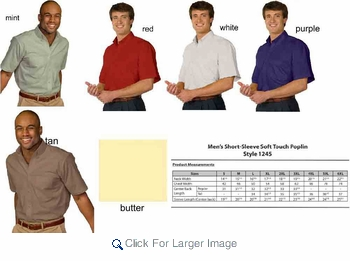 Wholesale S/S Oxford Work/Dress Shirt- $4.95/pc. - Click to enlarge