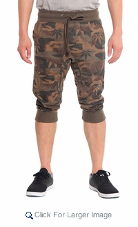 Wholesale Victorious Bermuda Jogger Shorts - $12.50/pc - M-VCT-3365-OL - Click to enlarge
