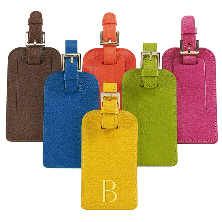 Personalized Leather Luggage Tag Share On Uniqueluggage