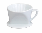#1 Filter Cone - White Porcelain