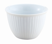 Porcelain Ribbed Custard Cup 5 oz.