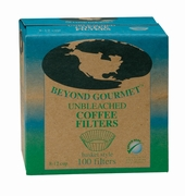 Unbleached Coffee Filters 100 Count Basket Style