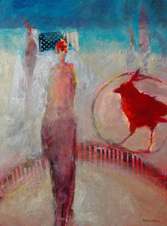 Apr 10 through 14 - Abstract Acrylic Painting and Collage with Bob Burridge