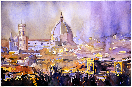 Apr 15 - Cityscapes in Watercolor with Ryan Fox
