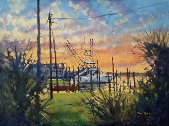 Apr 27 - Intro to Painting: Go Ahead and Give it a Whirl! with Dan Nelson