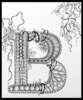 Apr 28 - Zentangle: Illuminated Letters with Cathy Boytos