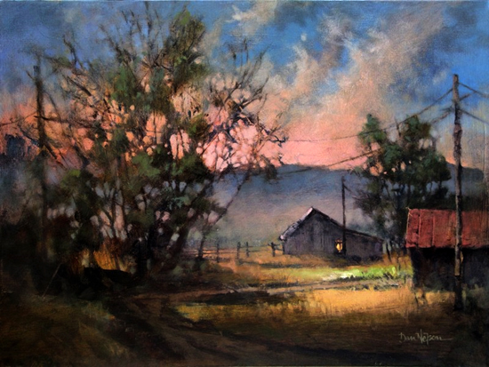 Apr 5 2018! - Intro to Painting:  The Secret Sauce for Great Landscape Painting  with Dan Nelson