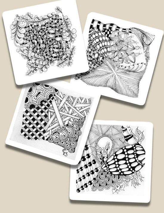 Jan 6 - Introduction to Zentangle with Cathy Boytos