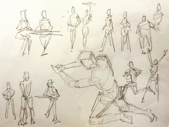 July 19 - Intro to Drawing: People in Context with Dan Nelson