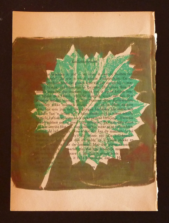 May 31 - Print, Naturally – Nature Printing with a GELLI Plate with Penny Arrowood