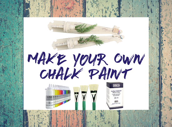 Saturday, Aug 5th - How to make your own Chalk Paint!