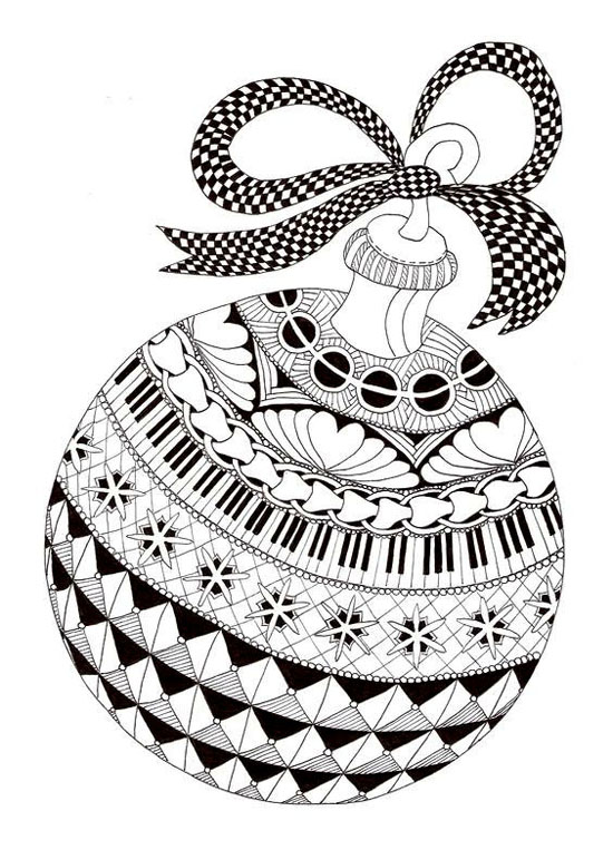 Saturday, Dec. 9th - Zentangle Holiday Cards with Cathy Boytos