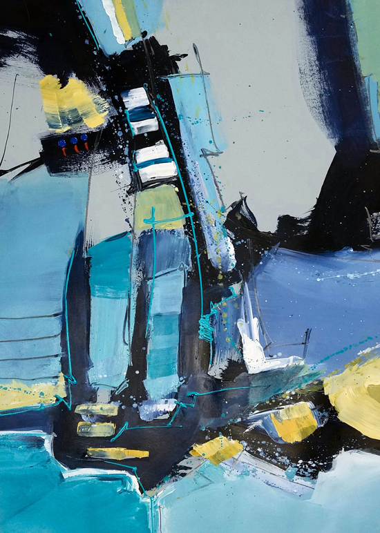 Saturday, May 6th - Abstracts on Paper with Joe DiGiulio!