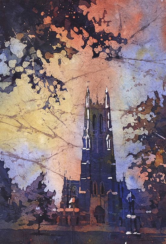 August 5 - Watercolor Batik with Ryan Fox