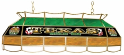 "40"" Texas Hold'em Stained Glass Light Fixture"
