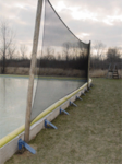 Backstop / Perimeter Netting 8' x 24'