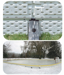 Backyard Ice Rink Thermoformed Plastic Interlocking Sideboards