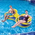 Blue Wave 2 Person Inflatable Cooler Tube