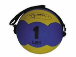 "FitBall MiniMed Medicine Ball (Yellow 2lbs 5"")"