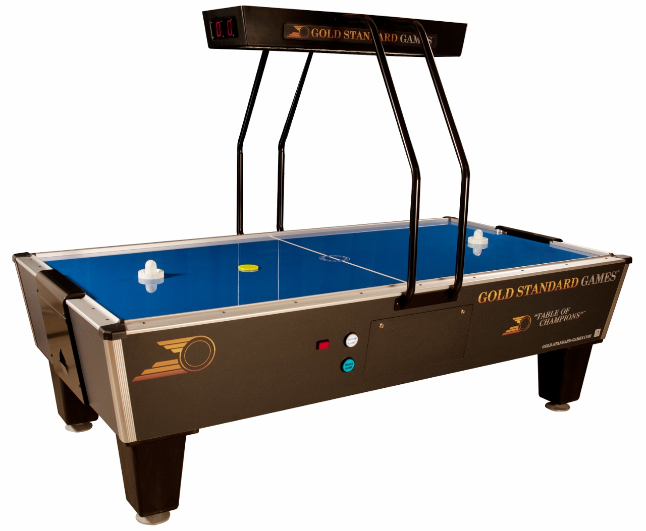 Genial Game Room, Rec Room Games, Air Hockey Tables