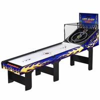 Hot Shot Skee Ball Table, Blue, 8-Feet