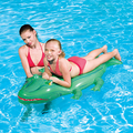 Inflatable Crocodile 66 In.  Ride-On Pool Toy