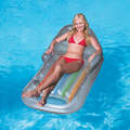 Inflatable Designer Fashion Tanning Lounger