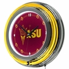 "NCAA Arizona State University 14"" Neon Clock"
