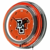 "NCAA Bowling Green State University 14"" Neon Clock"