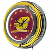 "NCAA Central Michigan University 14"" Neon Clock"