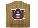 NCAA Auburn University  Imperial Dart Board and Cabinet