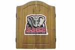 NCAA Imperial Alabama Crimson Tide Dart Board with Cabinet