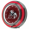 "NCAA Mississippi State University 14"" Neon Clock"