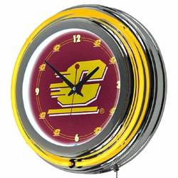 NCAA Neon Clocks