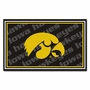 NCAA University of Iowa FanMats 4x6 Area Rug