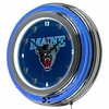 "NCAA University of Maine 14"" Neon Clock"