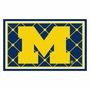 NCAA University of Michigan FanMats 4x6 Area Rug