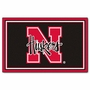 NCAA University of Nebraska FanMats 4x6 Area Rug