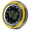 "NCAA Wake Forest University 14"" Neon Clock"