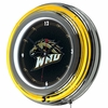 "NCAA Western Michigan University 14"" Neon Clock"