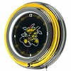 "NCAA Wichita State University 14"" Neon Clock"