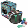 Deluxe Carousel Poker Rack Set Pre-Packaged 200 Chips & Carousel