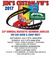 BUCKEYE GERMAN JUBILLE 2017 JULY 8TH & 9TH