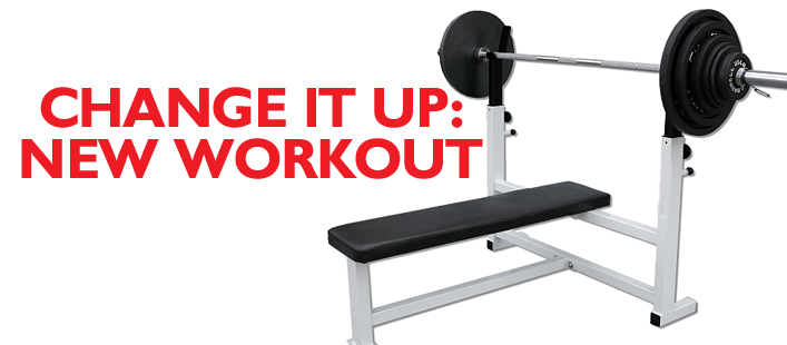 Change It Up With New Workout