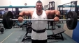 Ethan Pendry Trains Shoulders